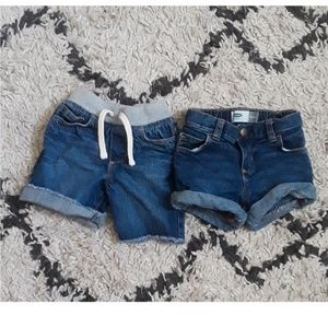 Other - 2 pairs of old navy Jean shorts
